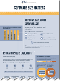 Software Sizing Matters Infographic