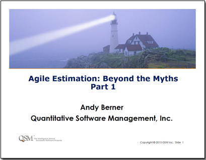 Agile Estimation: Beyond the Myths Webinar