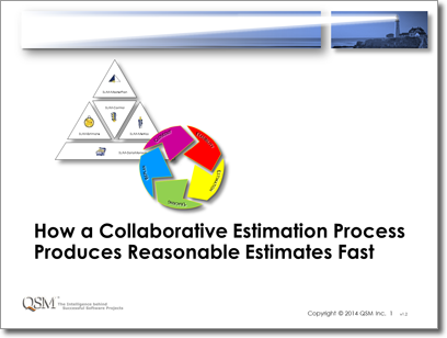 How a Collaborative Estimation Process Produces Realistic Estimates Fast