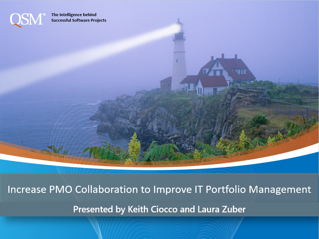 PMO Estimation Webinar