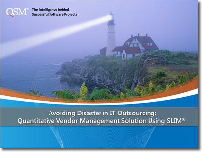 Avoiding Disaster in IT Outsourcing: A Quantitative Solution for Vendor Management
