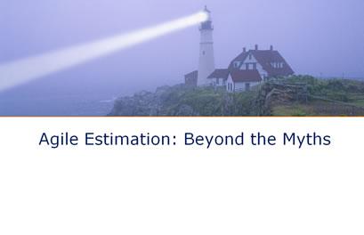 Agile Estimation: Beyond the Myths