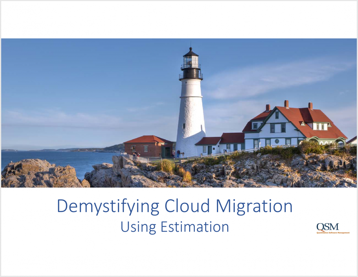 Demystifying Cloud Migration Using Estimation