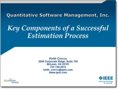 Key Components of a Successful Estimation Process